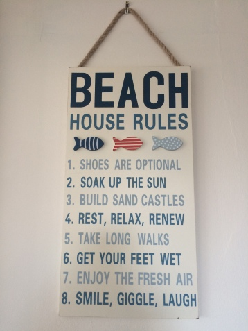 Obey the rules & relax
