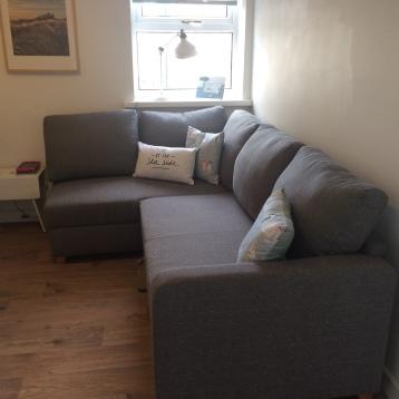 Corner sofa-bed